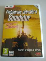 Plateforme Petroliere Simulator Uig - Jeu De Pour PC Dvd-Rom Edition France
