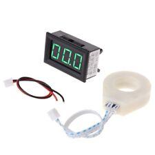 DC 5-120V 100A Digital Voltmeter Current Voltage Amp Meter w Hall Effect Sensor
