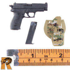 Bear SEAL Six - HK Pistol w/ Holster - 1/6 Scale - Mini Times Action Figures