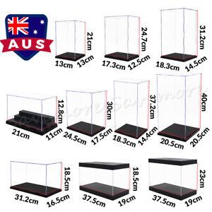 Acrylic Display Case Action Figures Box Dustproof 41cm Large Cars Trucks Vans AU