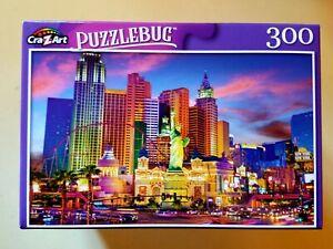 Las Vegas Strip Ny Ny Casino Hotel Puzzlebug 300 piece Brand New FREE SHIPPING