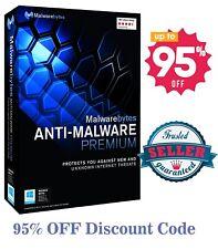 MalwareBytes PREMIUM 2020 95% OFF🔥 Discount Code 4 Year Subscription✔️