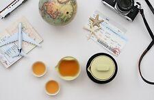 Tea sets Portable Chinese Kungfu Tea Macaron Edition Green Color Tea set