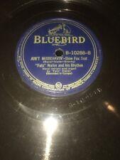 BLUEBIRD 78 RPM Georgia Rockin' Chair/Ain't Misbehavin'