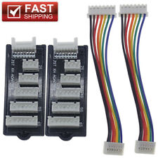 2pcs Quality JST-XH Balance Board 2S-6S LiPo Battery Charger Charging Adapter RC