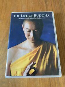 The Life Of Buddha: The 12 Deeds of Buddha Shakyamuni - DVD - VGC