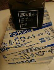 CASTEL SOLENOID VALVE COIL HM3 12vdc castel 9120/rd1 20w