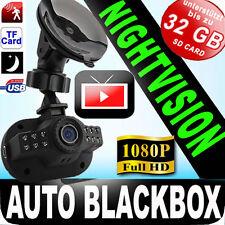 Full-HD BLACKBOX AUTO PKW/LKW Kamera+Nachtsicht LED G-SENSOR/SOS LOOP +SKYPE CAM