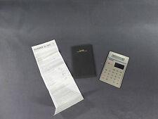 CasioSL-900/calculatrice solaire vintage en parfait état de marche avec pochette