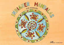 *Malbuch*Indianer Mandalas*DIN A5*Grätz-Verlag*
