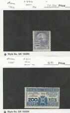 Brazil, Postage Stamp, #404, 411 Mint Hinged, 1934-35, Jfz