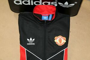 ADIDAS ORIGINALS MANCHESTER UNITED 1984 TRACKSUIT TOP,JACKET,RETRO,SIZE:SMALL