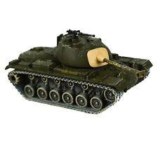 1/87 Ho Scale Corgi M-48 Patton Tank Marine Green Weathered Army US WW2