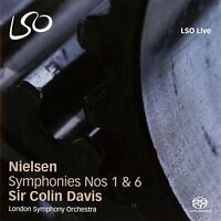 London Symphony Orchestra - Nielsen Symphonies Nos 1 and 6 [CD]