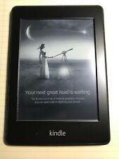 Kindle Paperwhite 5th Gen E-Book Reader- Wi-Fi Capable - Black USED