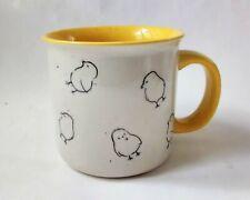 New listing 2019 Meritage 20.9oz Speckled Chick Peep Easter Coffee Mug