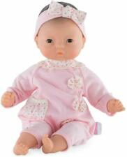 "Corolle Bebe Baby Doll 12"" Sleep Eyes Blonde Hair 2000"