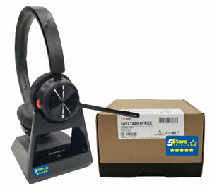 Plantronics Savi 7220 Office Wireless Headset (213020-01, S7220-D) - Brand New