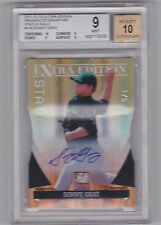 SONNY GRAY 2011 Elite Extra Edition Gold Status Rookie Auto /5 BGS 9/10 A's RC