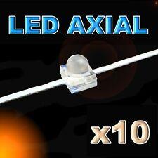 371/10#LED axial 1,8mm orange 10pcs