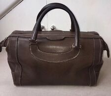 Genuine Gucci Vintage anni 1970 RARA in Pelle Grande Borsa Boston