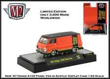 M2 Machines 1:64th Diecast Car '67 Dodge A100 Panel Van in Display Case