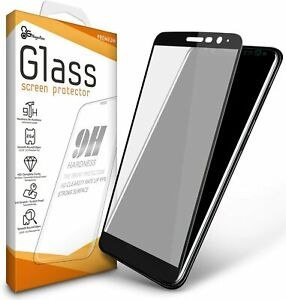 For LG Stylo 6 Screen Protector [Full Coverage] Edge to Edge Tempered Glass