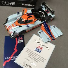 New 1/18 Autoart LOLA Aston Martin LMP1 2009 1000KM nurburgring #009 24H Du Mans
