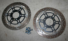 Good Used Pair of OEM Front Brake Discs for Suzuki GSX 600 Katana 1998-2006 Disc