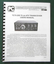 PC Electronics TC-70-20S Instruction Manual: Comb bound & Protective covers!