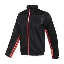 Abrigos y chaquetas de hombre negro adidas de poliéster