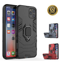 iPhone 11 Case with Ring Holder Kickstand Cover Rugged TPU Protective