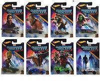 Hot Wheels Guardians Of The Galaxy Vol. 2 NEU 8 ' er Set Modelle NEU