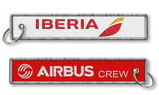 Iberia-Airbus Crew Tags x2