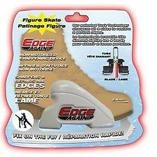 Edge Again Ice Skate Sharpener, Sharpen Restore Fix Edges On The Bench