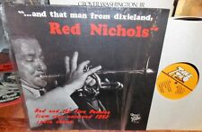 1978 AND THAT MAN FROM DIXIELAND RED NICHOLS 1951 UNISSUED RADIO SHOWS LP NM