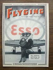 "Norway Norvegian Civil Aviation Magazine ""Flyging"" (""Flight"") N 8 1949"