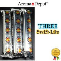 Charcoal Tablets Swift Lite 33mm for Resin, Granular Incense 3 Packs 30 Tablet