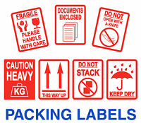 This Way Up Labels Parcel / Stickers