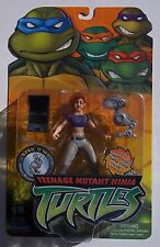 TEENAGE MUTANT NINJA TURTLES. APRIL O'NEIL ACTION FIGURE. 2003 ON CARD.