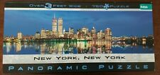 NEW YORK, NEW YORK Panoramic Jigsaw Puzzle - TWIN TOWERS 750 pieces 3 Feet Wide