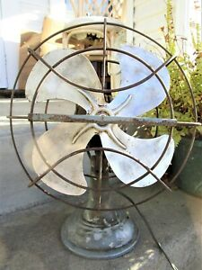 Vintage 1950's Westinghouse Electric Fan Art Deco Original Condition