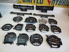 OEM GM Chevy Chevrolet Corvette Speedometers Faceplate LARGE Lot