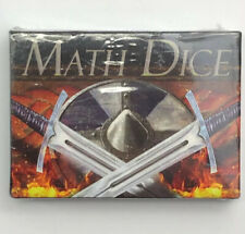 Math Dice Counting Cards Math flashcards Starter Deck Play Without Reading