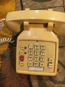 Desk Phone APAX DELUXE TWO LINE w/ TONE & PULSE DIALING - Works