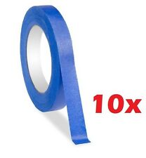 10x Premium Grade Blue Painters Masking Prep Tape Multi-Surface 3/4 in X 60 yd