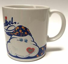 Vintage 1988 Cuddle A Snubbel Dog Coffee Mug Cup 11 Ounce Wippco Inc.