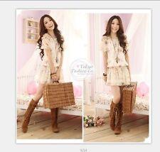 Vestito vestitino dress fiori floral S M abito bianco fashion no franchi denny