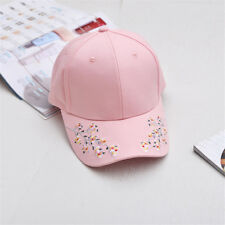 Embroidery Unisex Hats Baseball Cap Snapback Summer Casual Adjustable Caps