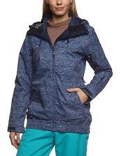 Roxy Valley Hoodie Womens Snowboard Ski Jacket Ladies Winter Snow Coat L RRP£165